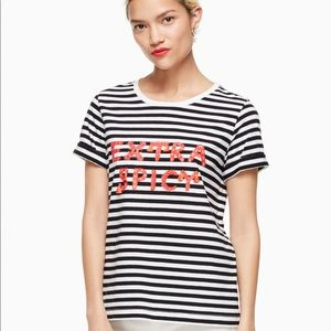 🆕 Kate Spade Extra Spicy tee